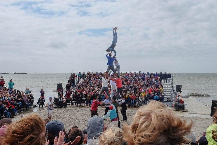 Marokkaanse acrobaten