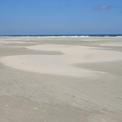Wat wind met zand doet