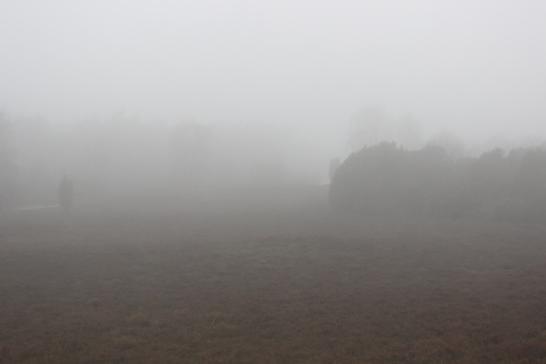 Mist bij de Lemelerberg