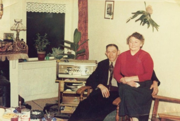Opa en oma Van der Wal